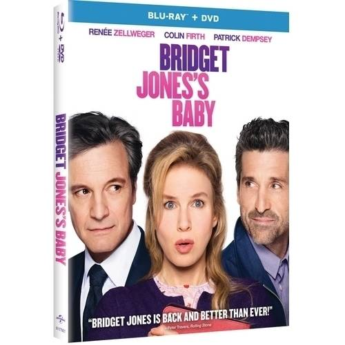 Bridget Jones's Baby (Blu-ray   DVD) (Widescreen)