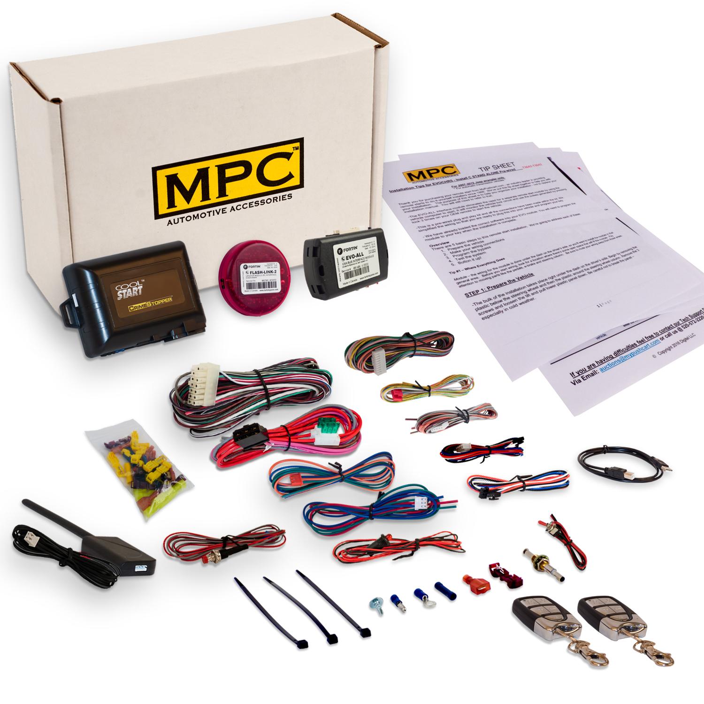 MPC Complete Remote Start Keyless Entry Kit 2014-2017 Hon...