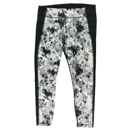 Under Armour Womens Mirror Printed Studio Leggings Black XL