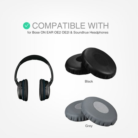 Replacement Memory Ear Pad Protein Leather Around Ear Cups Cushion Cover for ON EAR OE2 OE2I & Headphones - image 4 of 7