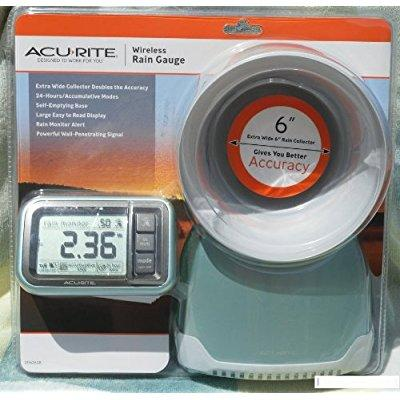 New Acurite Wireless Rain Gauge 00614. 6 rain collector by Rain Gauges