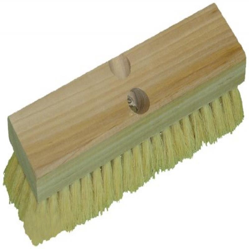 "Zephyr 41210 Tampico Wood Deck Scrub Brush, 10"" Length (Pack of 12)"