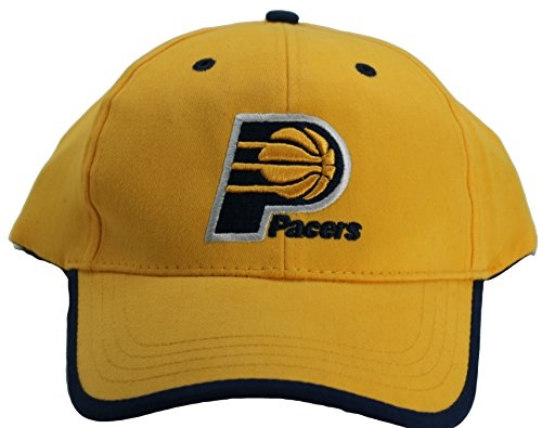 NBA Indiana Pacers Men's Adjustable Hat Cap Yellow