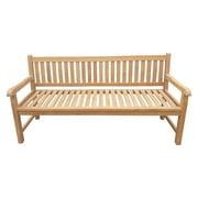 Seven Seas Teak Santiago Outdoor Teak Wood Bench