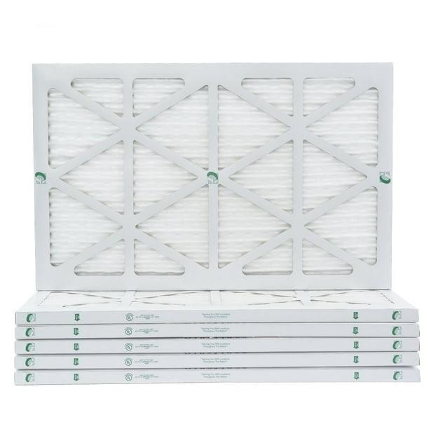 6 Pack 12x24x1 MERV 8 Pleated AC Furnace Air Filters