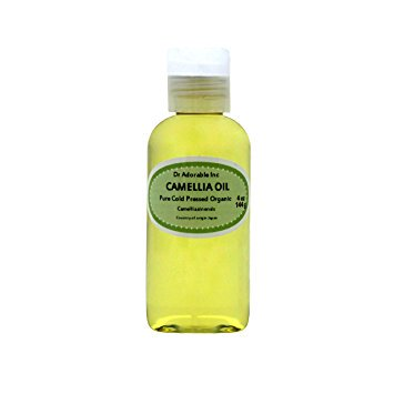 Dr. Adorable - 100% Pure Camellia Seed Oil Organic Cold Pressed Natural Hair Skin Care Anti Aging - 4 oz ()