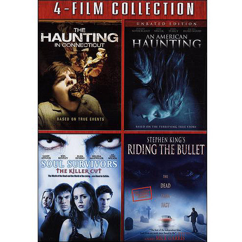 After Dark Horrorfest: The Haunting In Connecticut / American Haunting / Soul Survivors / Riding The Bullet (Widescreen)