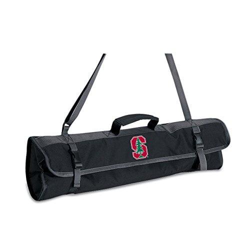 NCAA Georgia Bulldogs Metro 3-Piece BBQ Tool Set in Carry Case Picnic Time 747-03-100-184-0