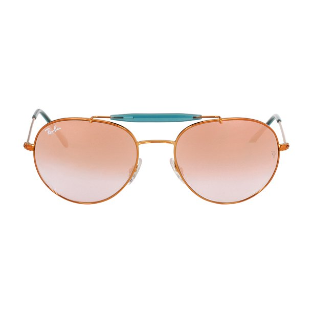 Ray-Ban Metal Frame Copper Lens Sunglasses RB3540
