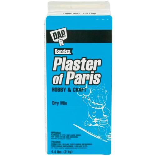 Plaster Of Paris 4.4 Pound Box-White