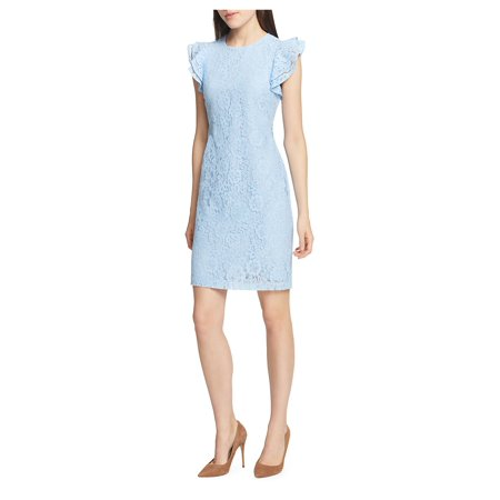 Essentials Lace Sheath Dress