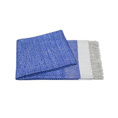 Cashmere Collection Handmade Silk Throw