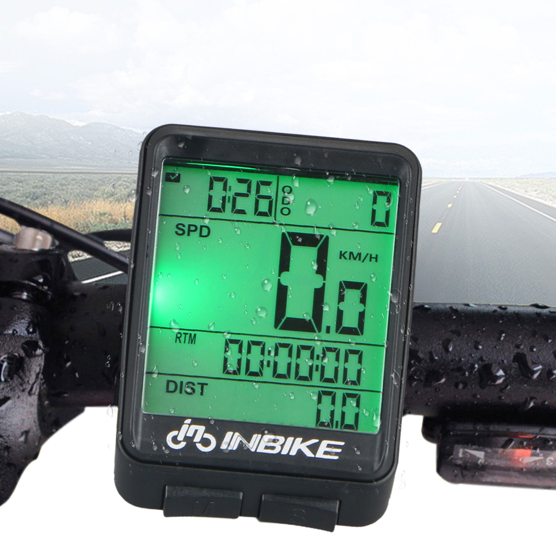 LCD Computer  Road  Bike Backlight Speedometer Odometer