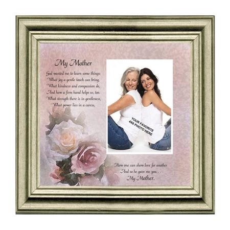 My Mother, Gift from Daughter for Mother, Personalized Picture Frame ...