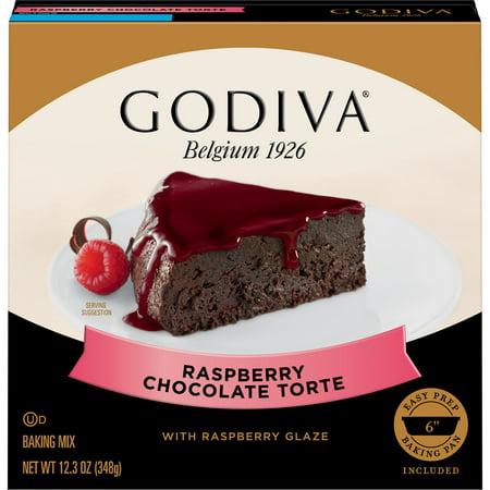 Godiva Raspberry Chocolate Torte with Raspberry Glaze (Chocolate Raspberry Torte)