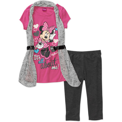 Girls - License Tunic With Legging Set