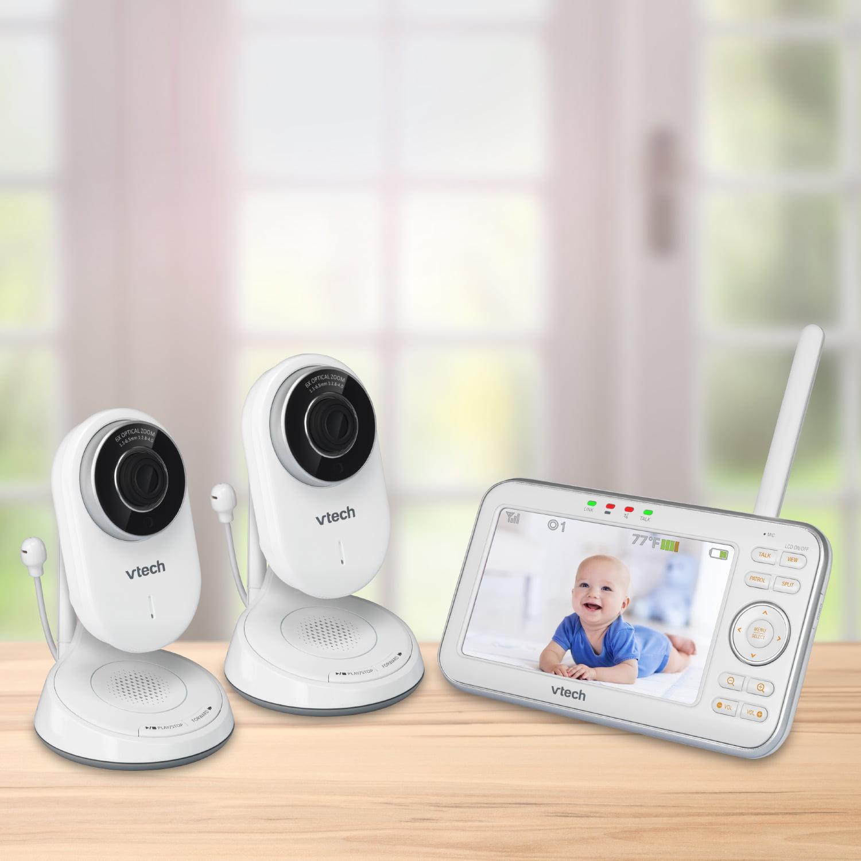 VTech VM5271-2, Video Baby Monitor, Motorized Lens, 2 Cameras by VTech