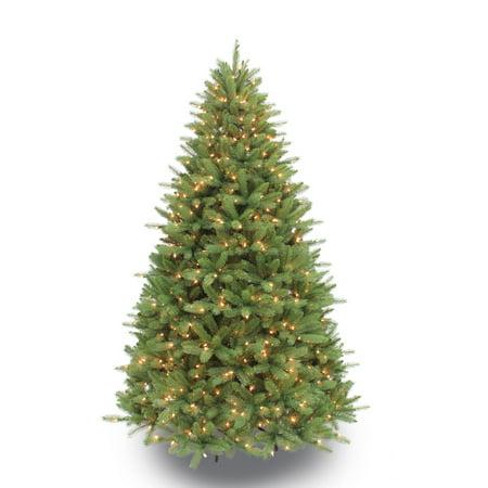 6 1/2 ft. Pre-lit Douglas Fir Premier Artificial Christmas Tree 550 UL listed Clear Lights ()