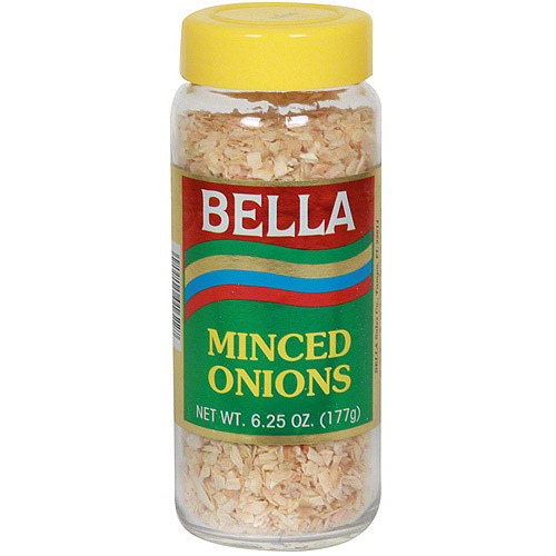 Bella  Minced Onions, 6.25 oz (Pack of 12)
