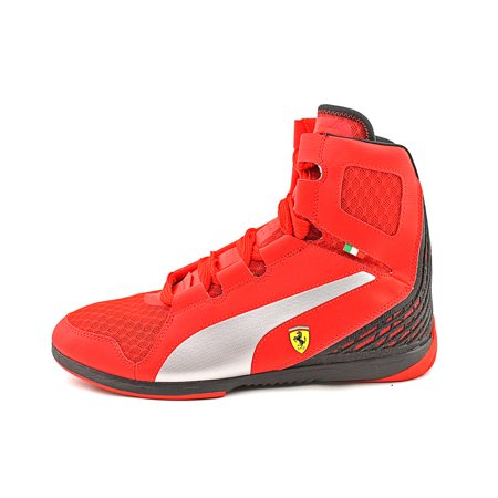 PUMA - Puma Men s Ferrari Valorosso Mid Webcage Rosso Corsa   Black High-Top  Fashion Sneaker - 6.5M - Walmart.com fdcbb7add