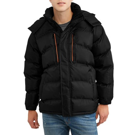 Climate Concepts Men's Full Zip Hooded Rib Stop Midweight (Mammut Mens Makalu Jacket)