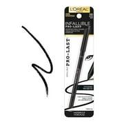 (3 Pack) L'OREAL Infallible Pro-Last Waterproof Pencil Eyeliner - Black
