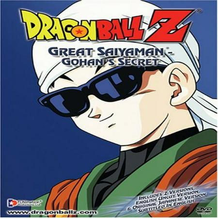 Dragon Ball Z - Great Saiyaman - Gohan's Secret (Dragon Ball Z Great Saiyaman Saga Episodes)