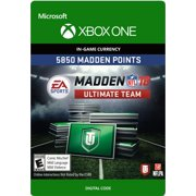 Xbox One Madden NFL 18 5850 Points Pack (email delivery)