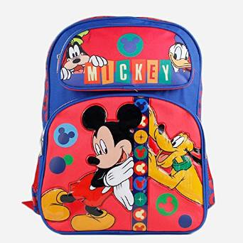 - Backpack - Disney - Mickey Mouse and Friends New School Bag 652739