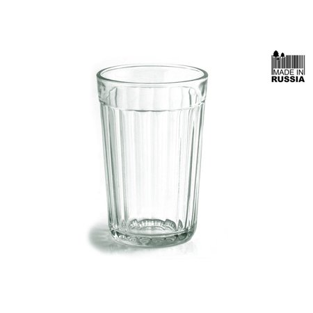 Faceted Drinking Glass, Made in: Russia By Granenniy Stakan From (Cheap Glasses Usa)