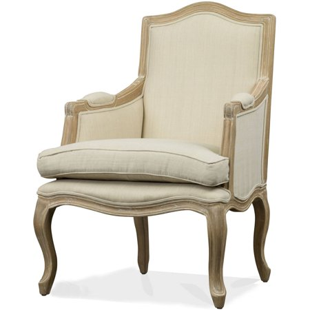 Nivernais Wood Traditional French Accent Chair Walmart Com