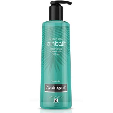 2 Pack - Neutrogena Rainbath Replenishing Shower And Bath Gel, Ocean Mist 16 (The Body Shop Vs Bath And Body Works)