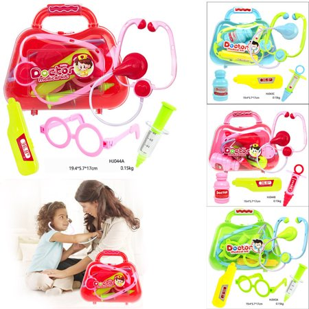 Tuscom Kids Baby Doctor Medical Play Carry Set Case Education Role Play Toy Kit Gift