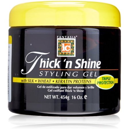 Fantasia Thick 'N Shine Styling Gel, 16 oz