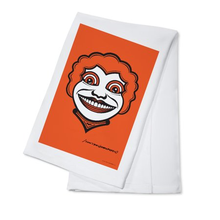 Johnny's Lady - John Van Hamersveld Poster Artwork (100% Cotton Kitchen Towel)