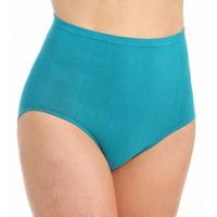 Women's Rhonda Shear 4458 Ahh Cotton Blend Seamless Panty