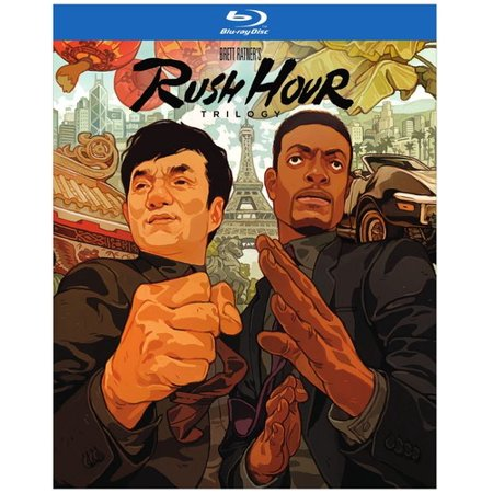 Rush Hour 3-Pack (Blu-ray) (Six Pack Movie Dvd)