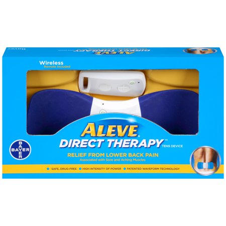 Aleve Direct Therapy Relief From Lower Back Pain, 1 (Lower Back Pain From Sleeping On My Back)