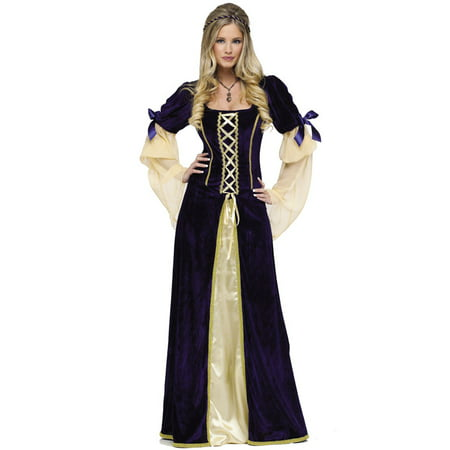 Fun World Womens Renaissance Medieval Princess Ren Faire Halloween Costume (Medieval Costumes For Children)