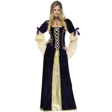 Fun World Womens Renaissance Medieval Princess Ren Faire Halloween Costume