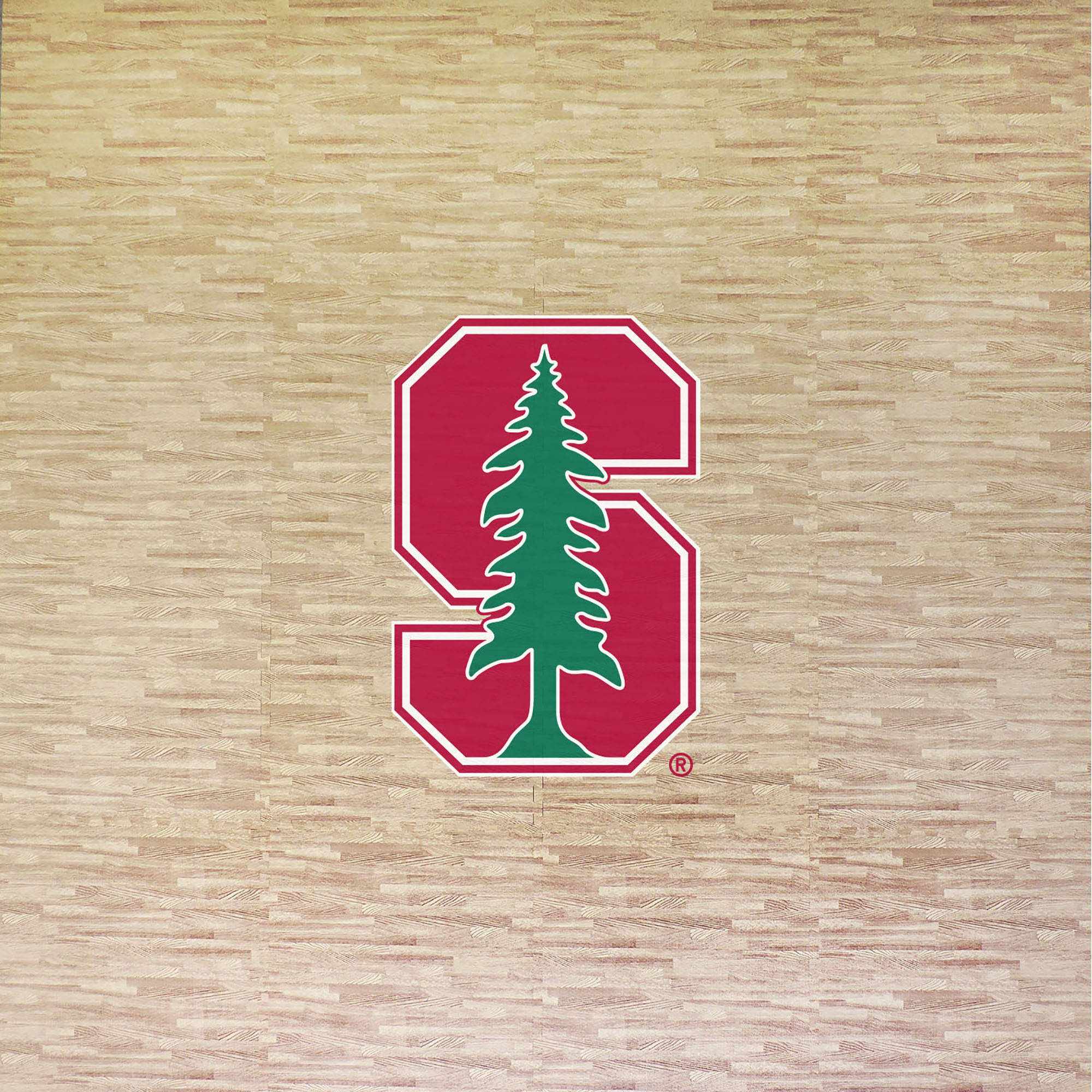 Stanford University Portable Foam Puzzle Tailgate Floor Mat by