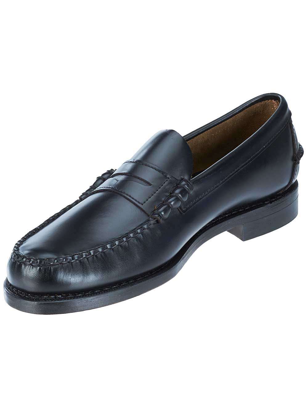 Sebago Mens Classic Loafers in Black by Wolverine World Wide