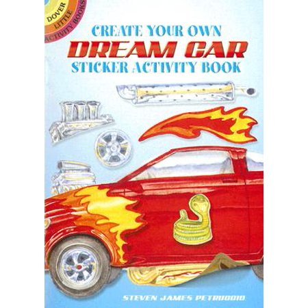Create Your Own Dream Car Sticker Activity Book](Decorating Your Car For Halloween)