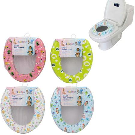 1 Baby Toilet Seat Potty Cushion Training Soft Padded