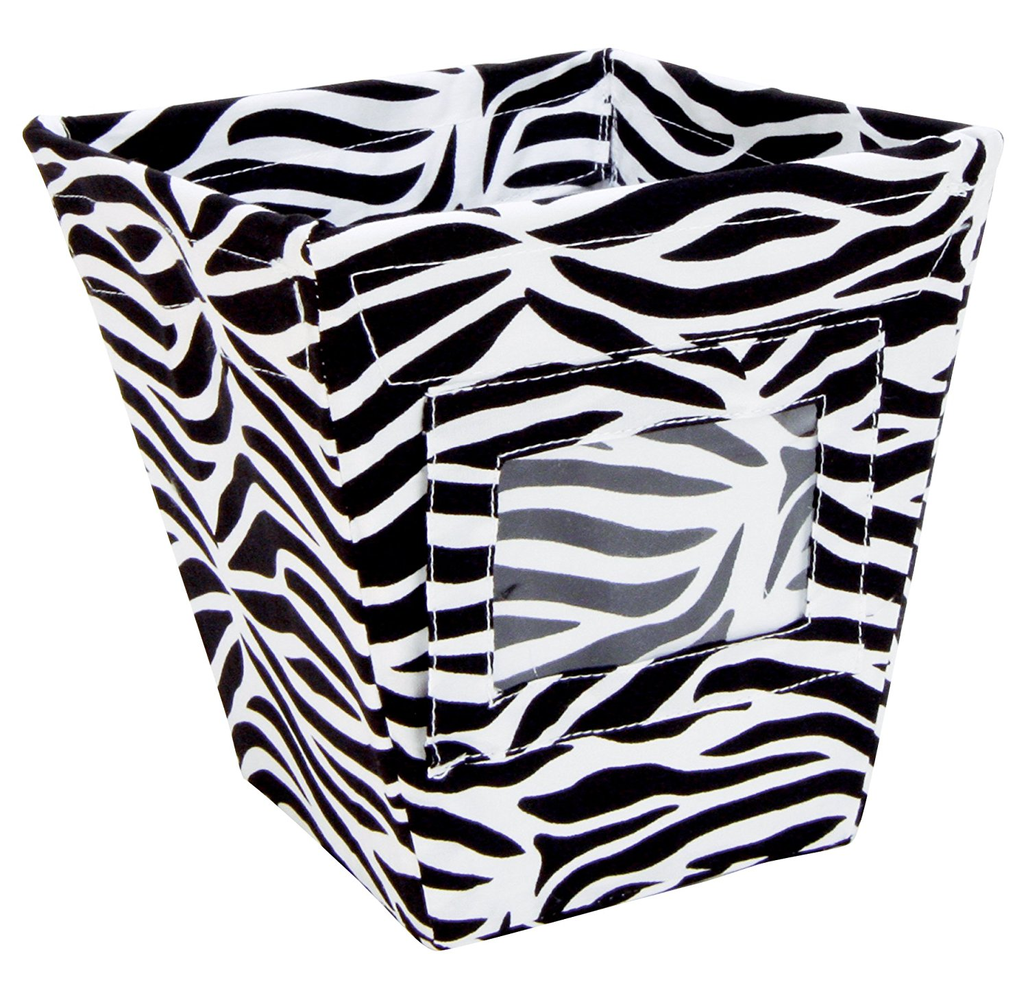 Delicieux Fabric Storage Bin, Zebra Print, Small, Warning: This Is Not A Toy. For  Decorative Storage Use Only. Please Use Parental Caution. By Trend Lab