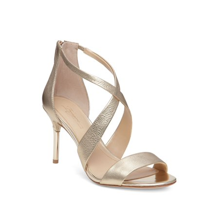 2724d4dcb7d7 Imagine Vince Camuto - Pascal 2 Metallic Leather Sandals - Walmart.com