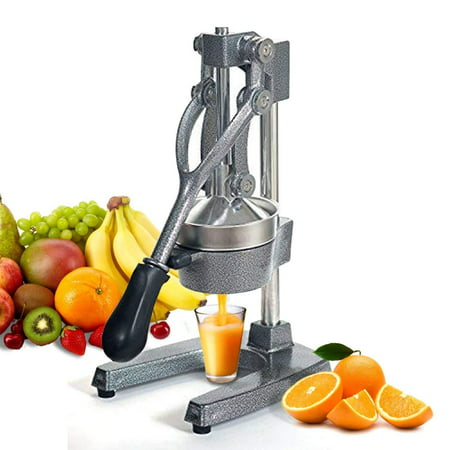 Zeny Heavy Duty Commercial Bar Citrus Press Orange Lemon Fruit Manual Squeezer Juicer (Manual Orange Juicer Glass)