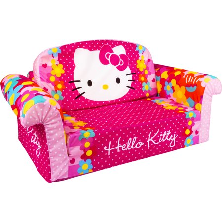 Hello Kitty  Toddler 2 In 1 Furniture Flip Open Sofa Chair