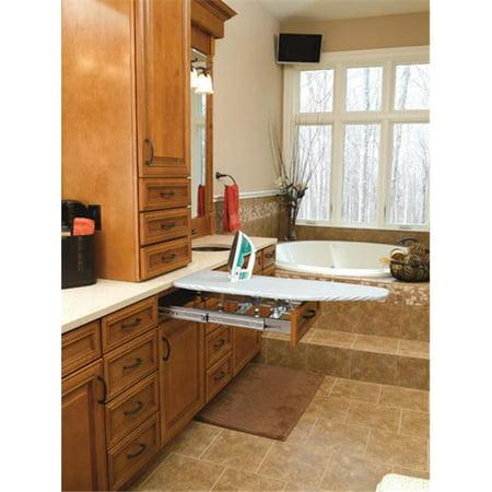 hd rev a shelf ironing board vanity fold out. Black Bedroom Furniture Sets. Home Design Ideas