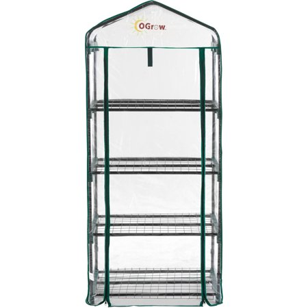 Image of Ogrow Ultra-Deluxe Bloomhouse 4-Tier Portable Greenhouse